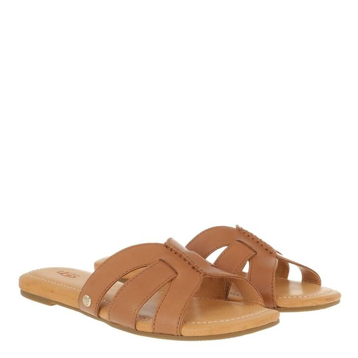 Schuh, UGG, Teague Sandal Leather Tan