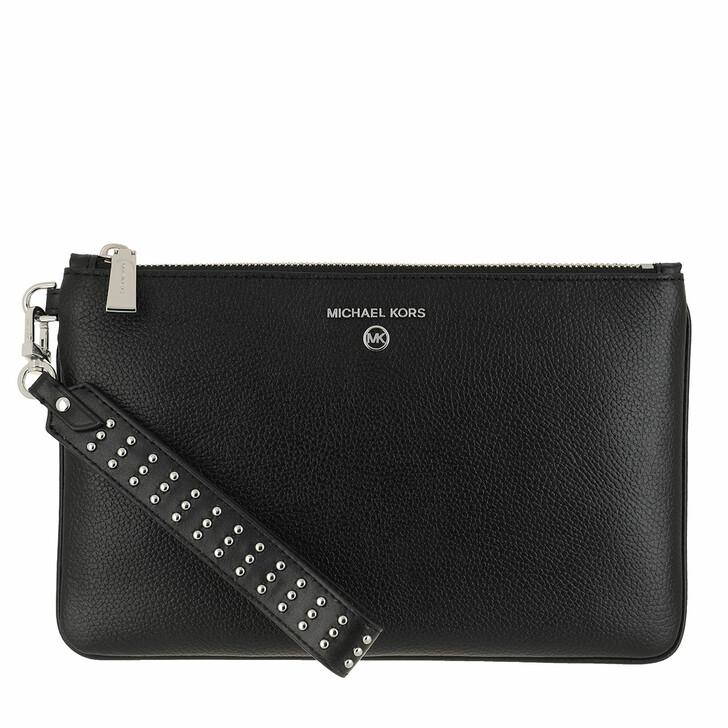 Handtasche, MICHAEL Michael Kors, Jet Set Medium Bracelet Wristlet Black