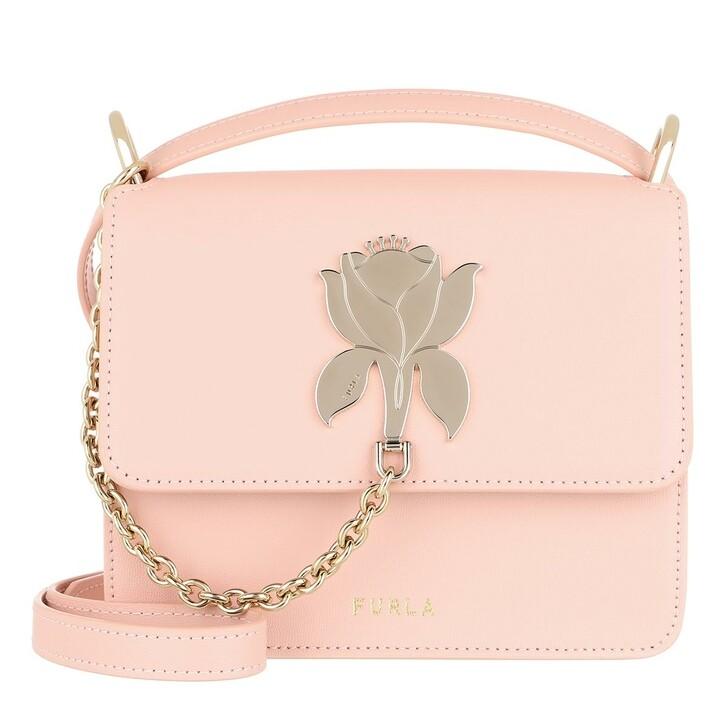 Handtasche, Furla, Furla Tuberosa Mini Crossbody Candy Rose