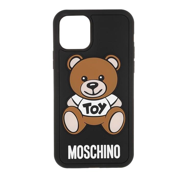 smart_cases, Moschino, Cover I-Phone 11 Pro Moschino Toy Fantasia Nero