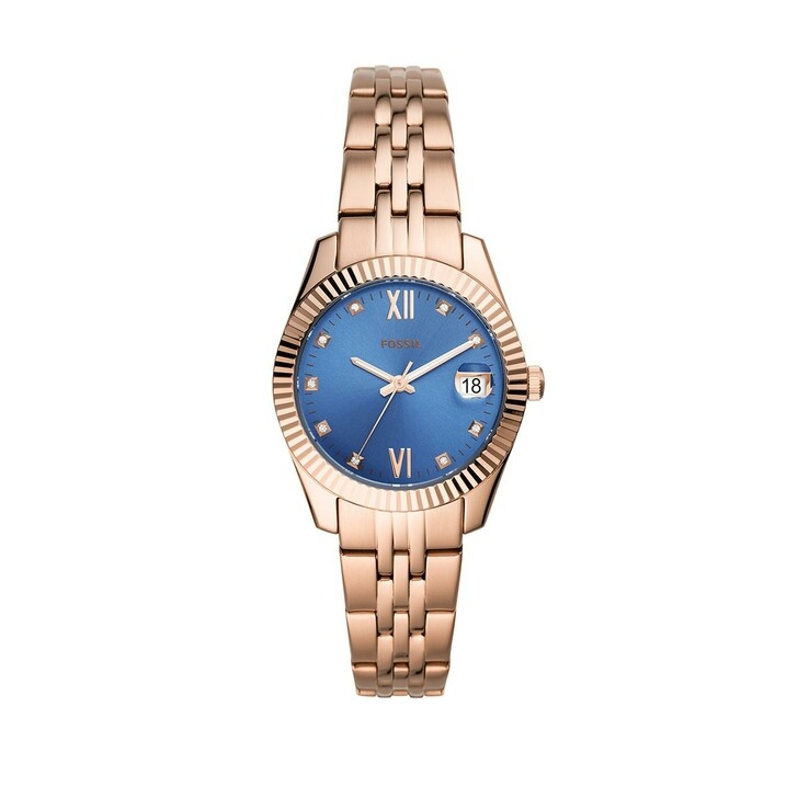 watches, Fossil, Scarlette Mini Watch Dress Rose Gold