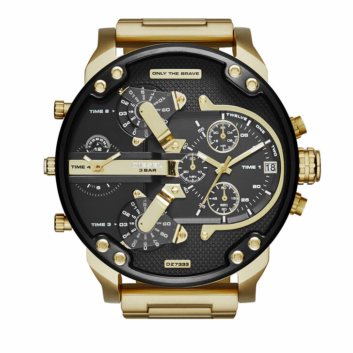 Uhr, Diesel, Mr. Daddy 2.0 Multifunction Stainless Steel Watch Gold