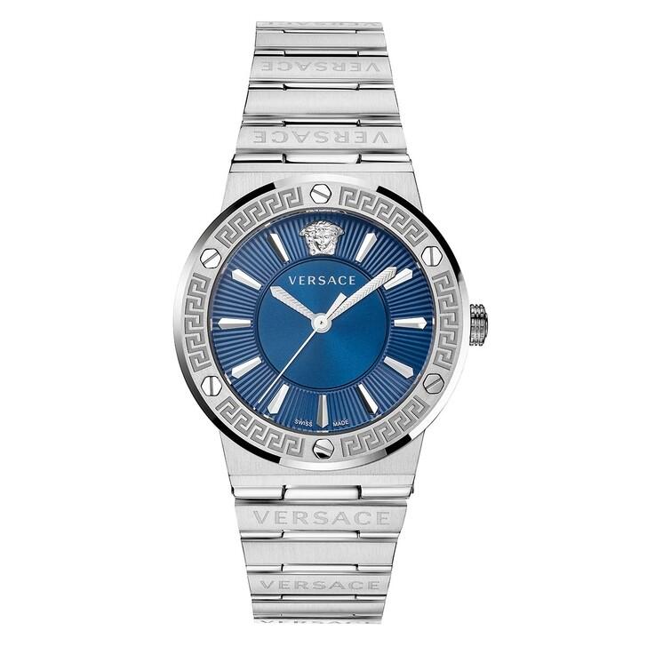 Uhr, Versace, Greca Logo Watch Blue