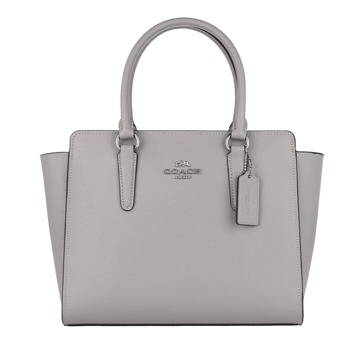 Handtasche, Coach, Tote Leather Grey