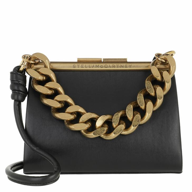 Handtasche, Stella McCartney, Small Structured Crossbody Bag Black