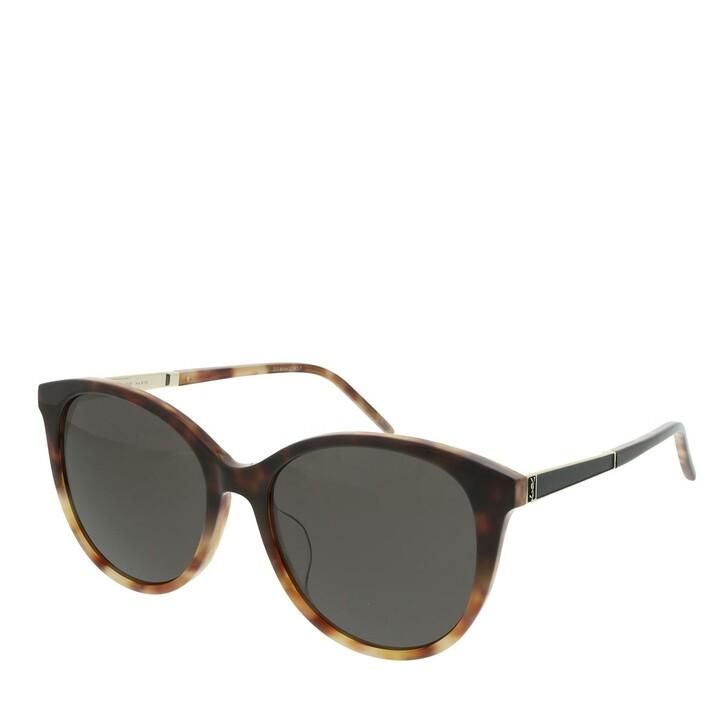 Sonnenbrille, Saint Laurent, SL M82/F-004 56 Sunglasses Woman Havana