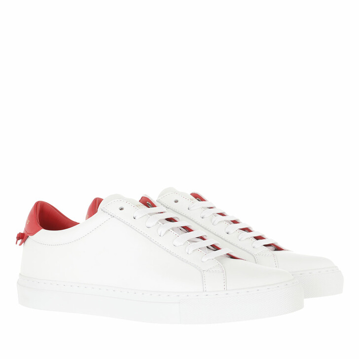 shoes, Givenchy, Urban Street Sneaker Leather White/Red