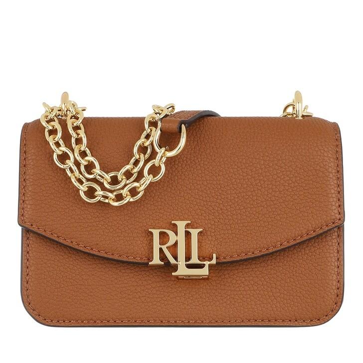 bags, Lauren Ralph Lauren, Madison 19 Crossbody Small Lauren Tan