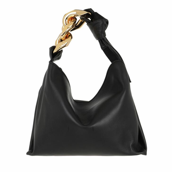 bags, J.W.Anderson, Small Chain Hobo Black