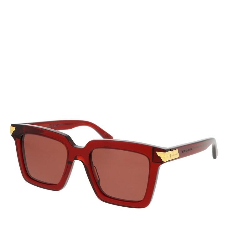 Sonnenbrille, Bottega Veneta, BV1005S-003 53 Sunglass Woman Acetate Burgundy