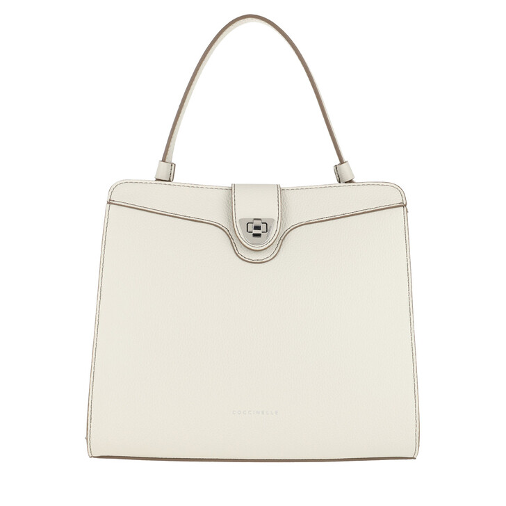 Handtasche, Coccinelle, Alaide Hanlde Bag Chalk