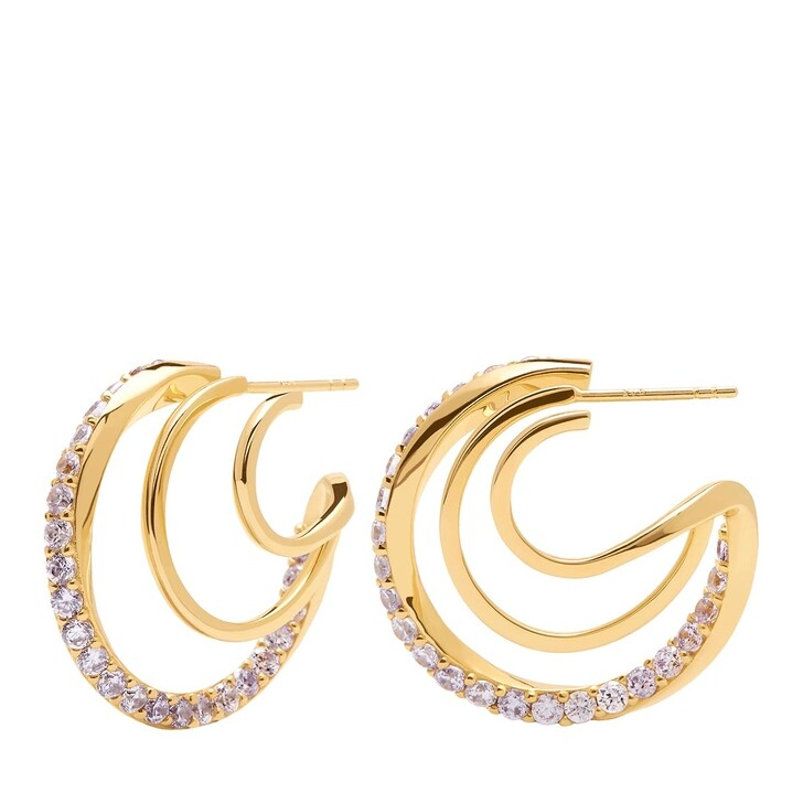 Ohrring, PDPAOLA, Majestica Earring Yellow Gold
