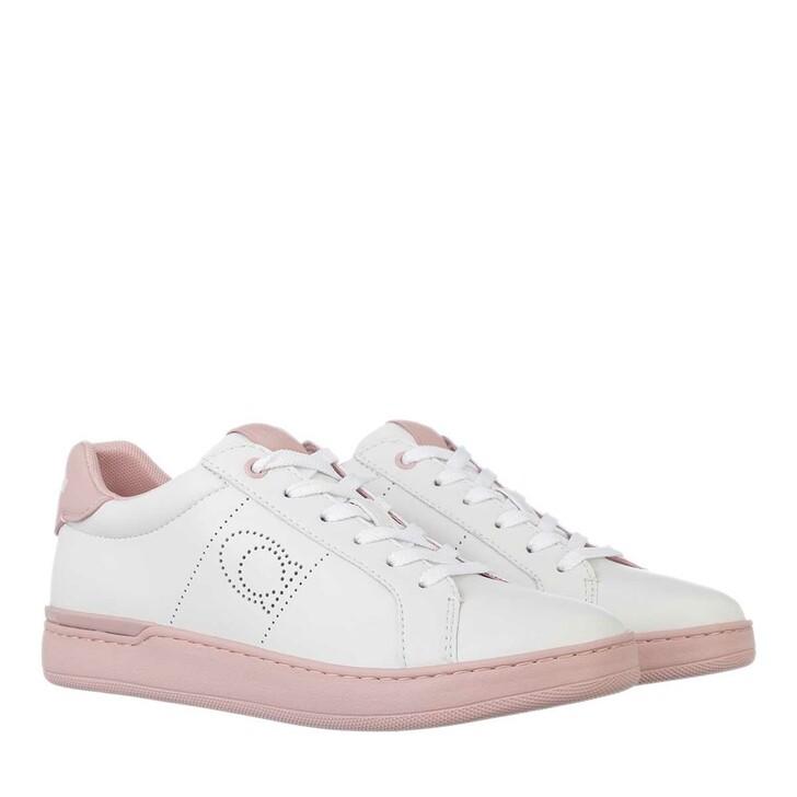 Schuh, Coach, Lowline Leather White/Aurora