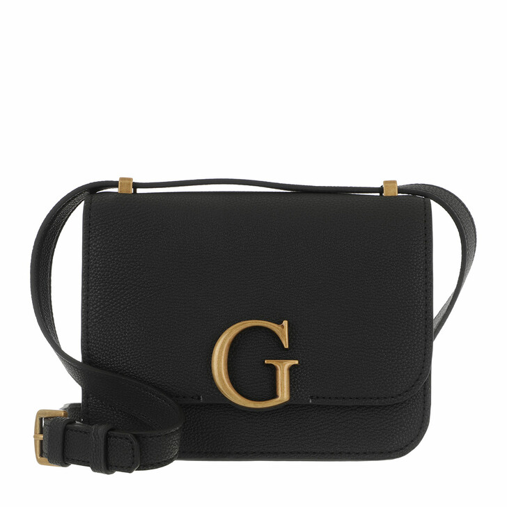 Handtasche, Guess, Corily Convertible Xbody Flap Black