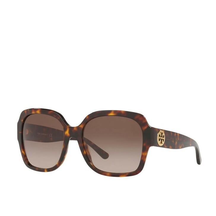 Sonnenbrille, Tory Burch, Women Sunglasses Classic 0TY7140 Dark Tortoise