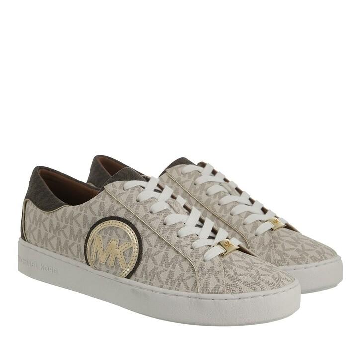 shoes, MICHAEL Michael Kors, Keaton Sneaker Vanilla/Brown