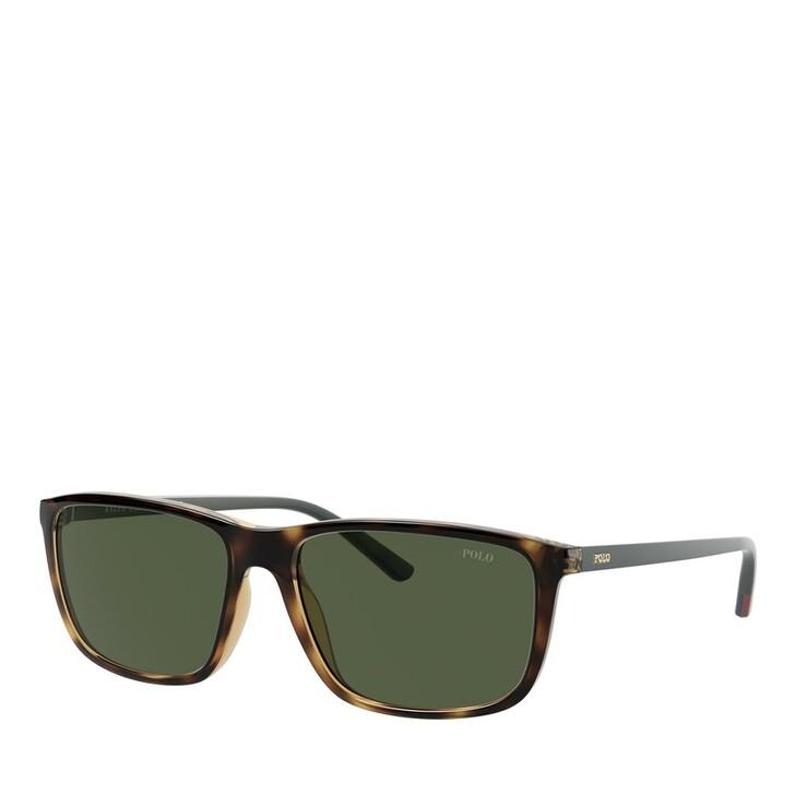 Sonnenbrille, Polo Ralph Lauren, 0PH4171 Shiny Dark Havana