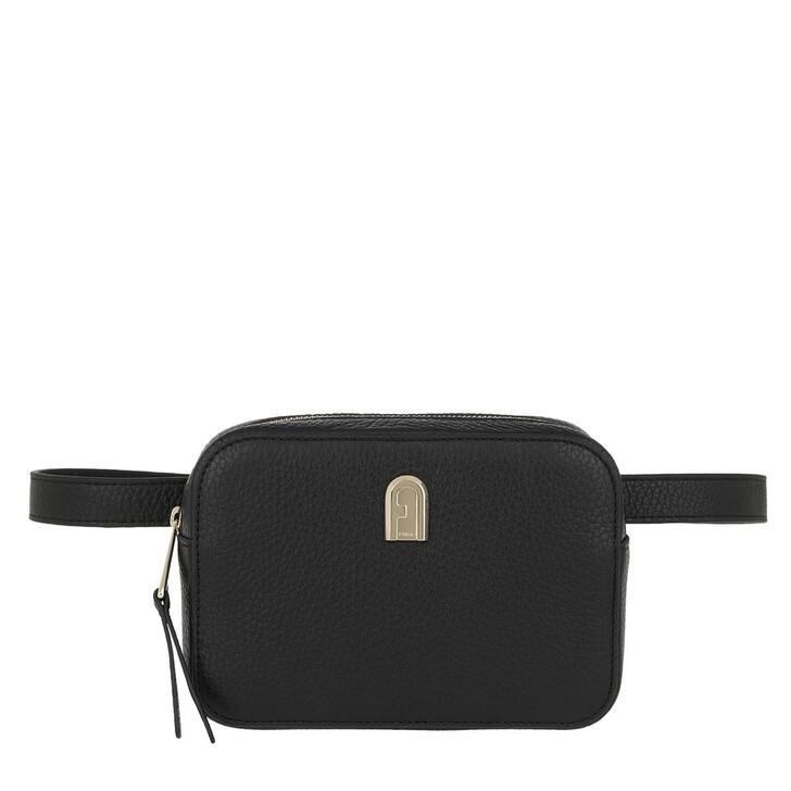 Handtasche, Furla, Sleek M Belt Bag Nero