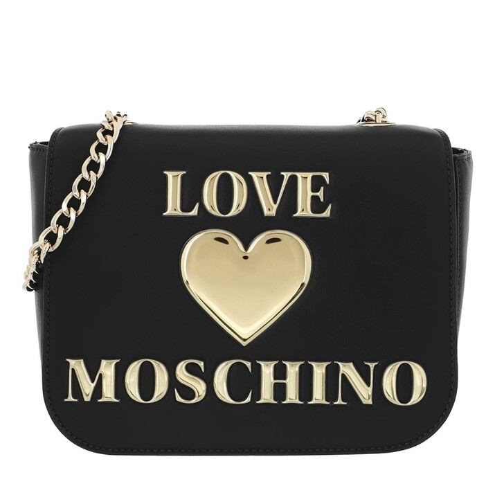 Handtasche, Love Moschino, Borsa Pu  Nero