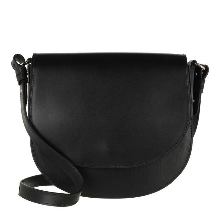 bags, Closed, Ally Medium Shoulder Bag Black