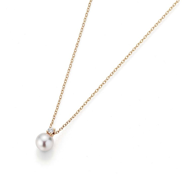 Kette, Gellner, Necklace Cultured Akoya Pearl Gold