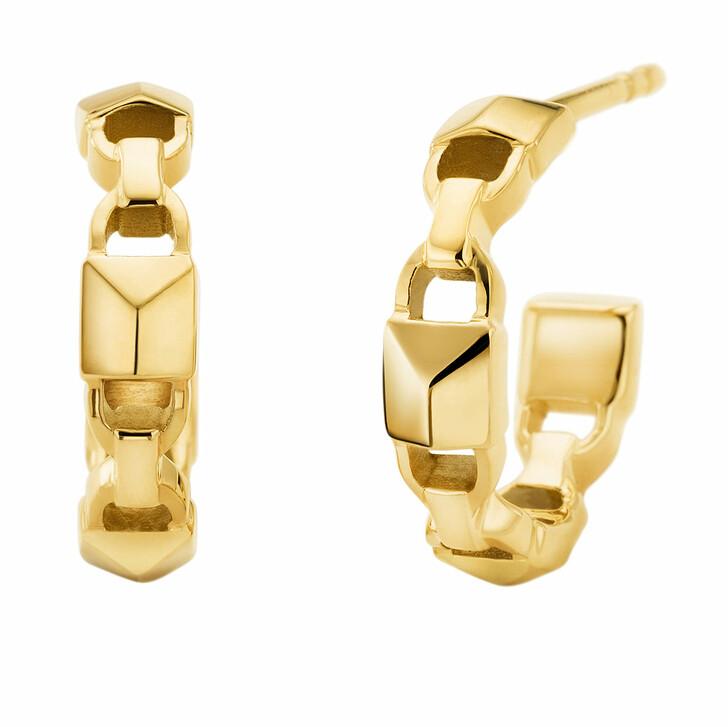 Ohrring, Michael Kors, MKC1013AA710 Huggie Mercer Link Gold