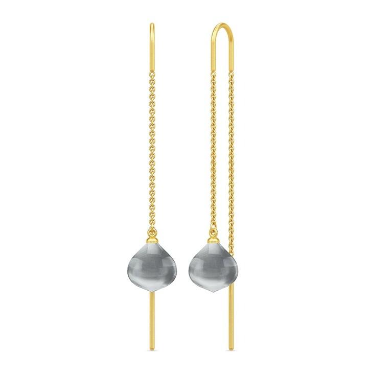earrings, Julie Sandlau, Maya Droplet Earrings Yellow Gold