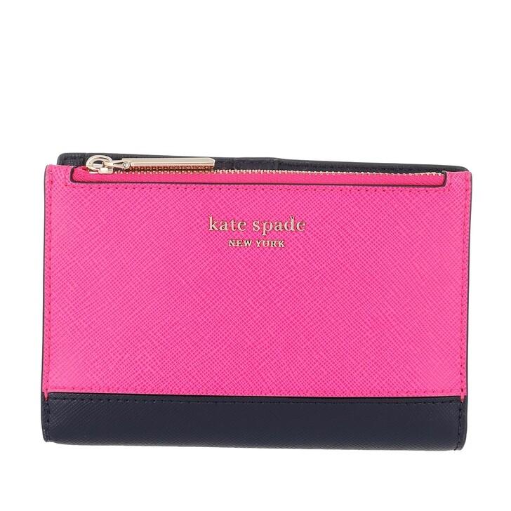 wallets, Kate Spade New York, Passport Wallet Shocking Magenta Multi