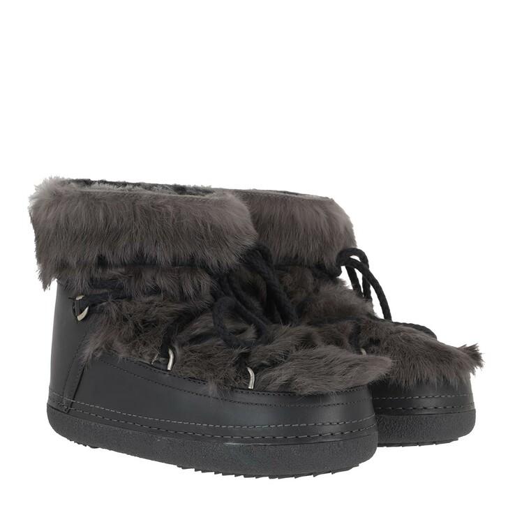 Schuh, INUIKII, Women Boot Rabbit Grey