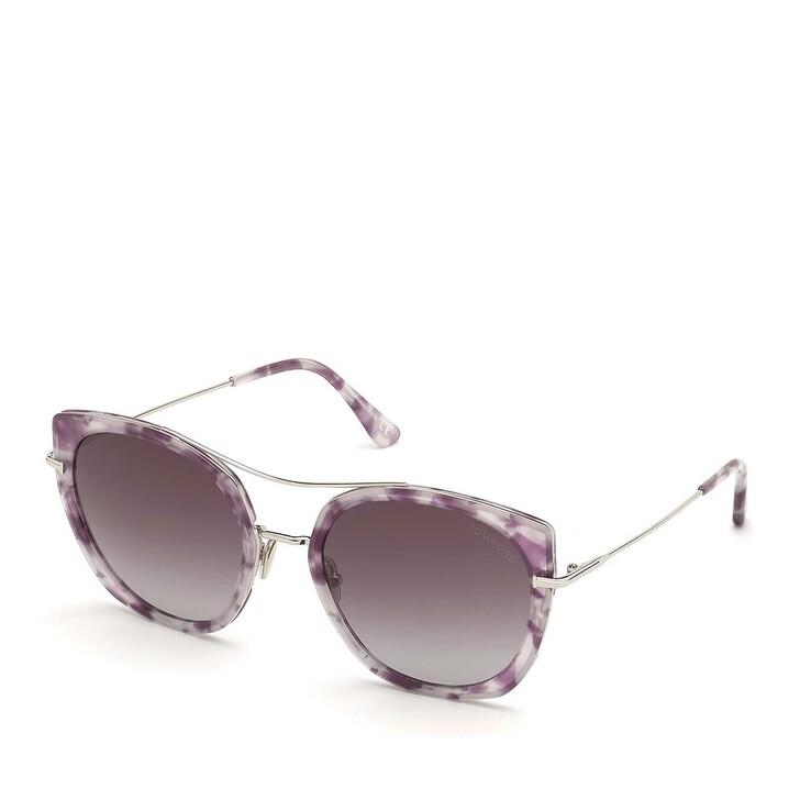 Sonnenbrille, Tom Ford, Women Metal Sunglasses FT0760 Havanna/Bordeaux