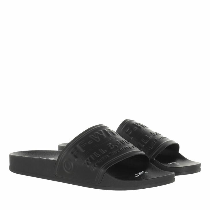 shoes, Off-White, Hf Pool Slider  Black
