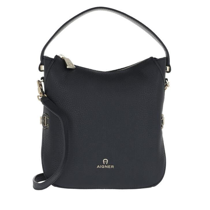 Handtasche, AIGNER, Crossbody Bag Night Grey