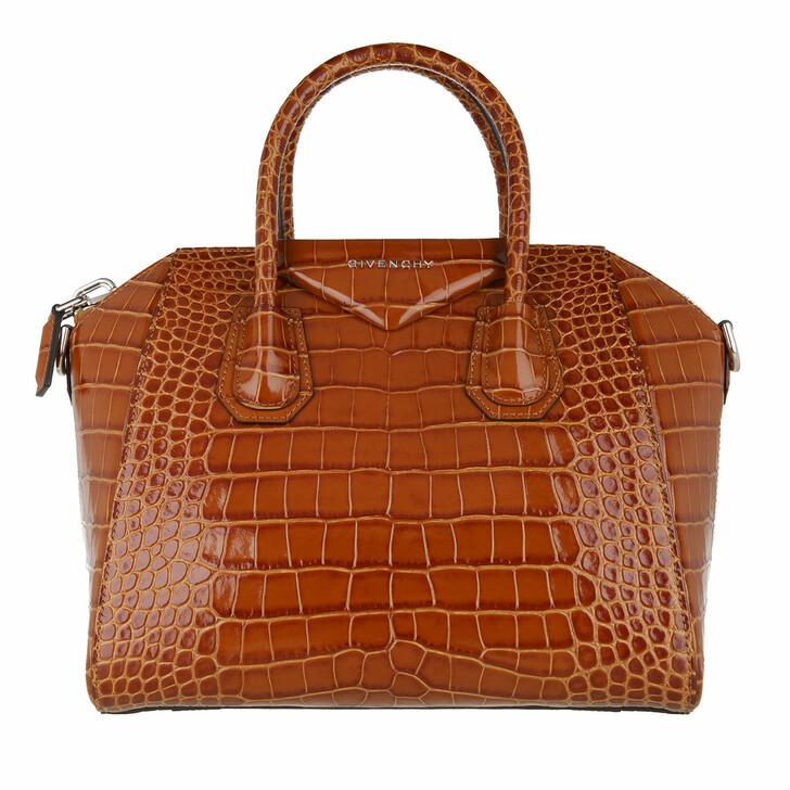 Handtasche, Givenchy, Crossbody Bag Leather Camel