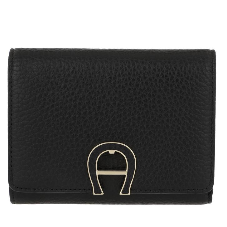 Geldbörse, AIGNER, Milano Wallet Black