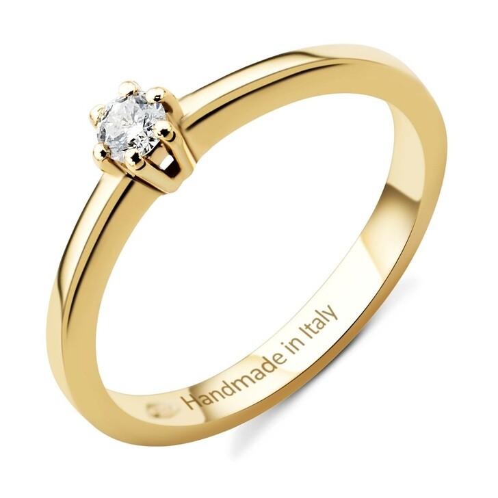 Ring, DIAMADA, 14KT 0,01ct Diamond Ring Yellow Gold