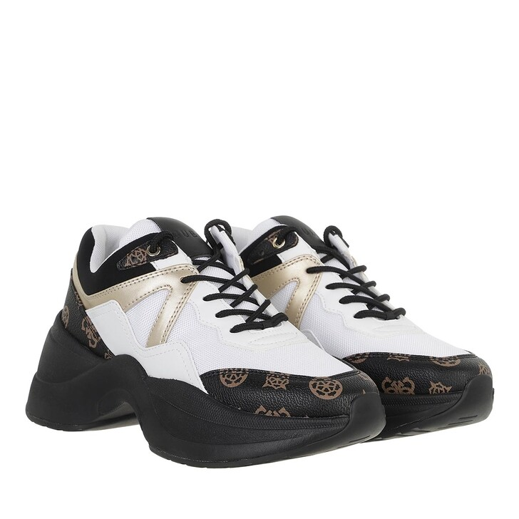shoes, Guess, Joehle Active Lady Black Brown