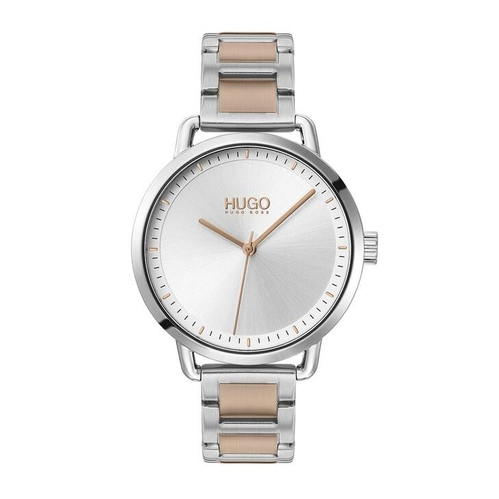 Uhr, Hugo, Women Quartz Watch Mellow Bicolor