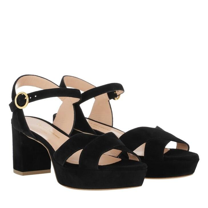shoes, Rupert Sanderson, Deidre Sandal Black