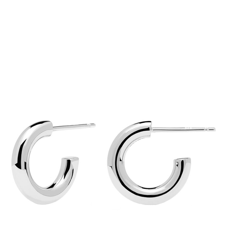 Ohrring, PDPAOLA, Earrings Mini Cloud Silver