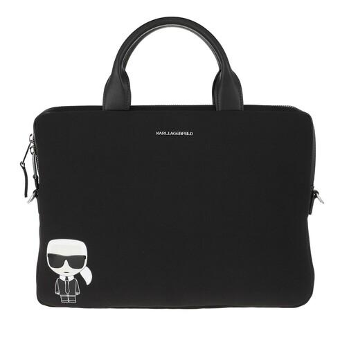 karl lagerfeld -  Laptoptaschen - Ikonik Laptop Sleeve Strap - in schwarz - für Damen