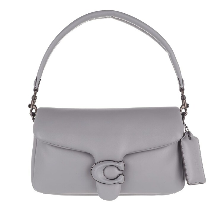 Handtasche, Coach, Leather Covered C Closure Pillow Tabby Shoulder Ba Granite