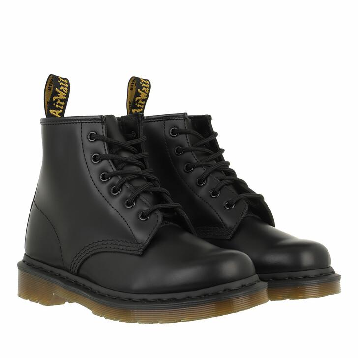 Schuh, Dr. Martens, 101 Black Smooth Black