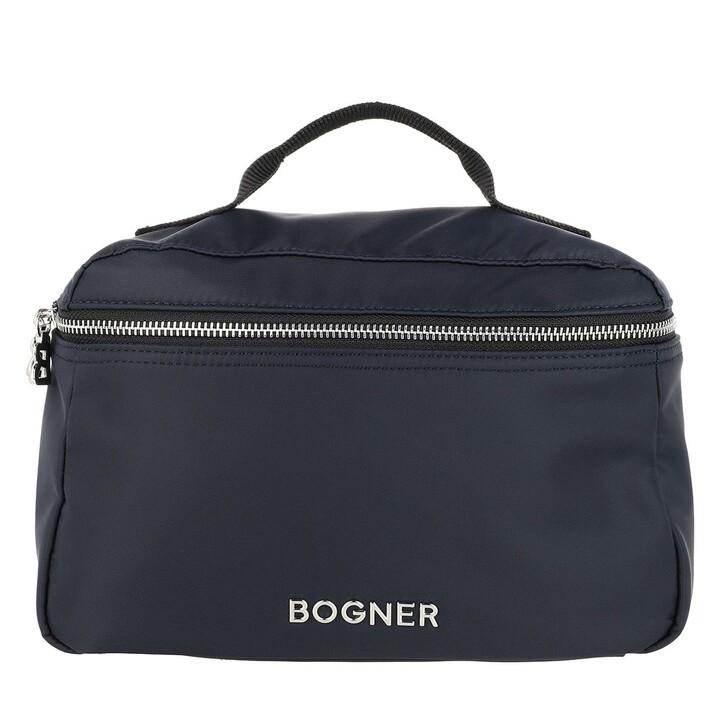 Reisetasche, Bogner, Klosters Pea Washbag Darkblue