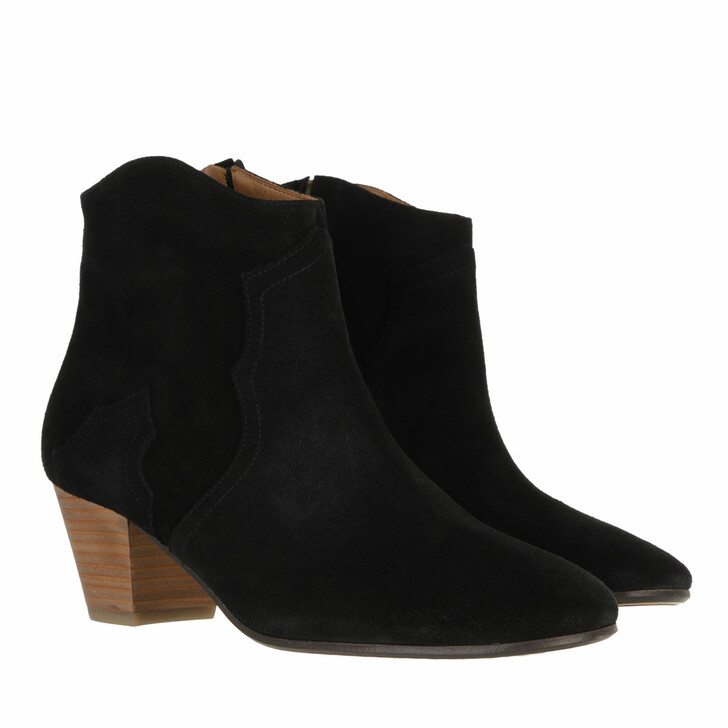 shoes, Isabel Marant, Dicker Ankle Boots Black