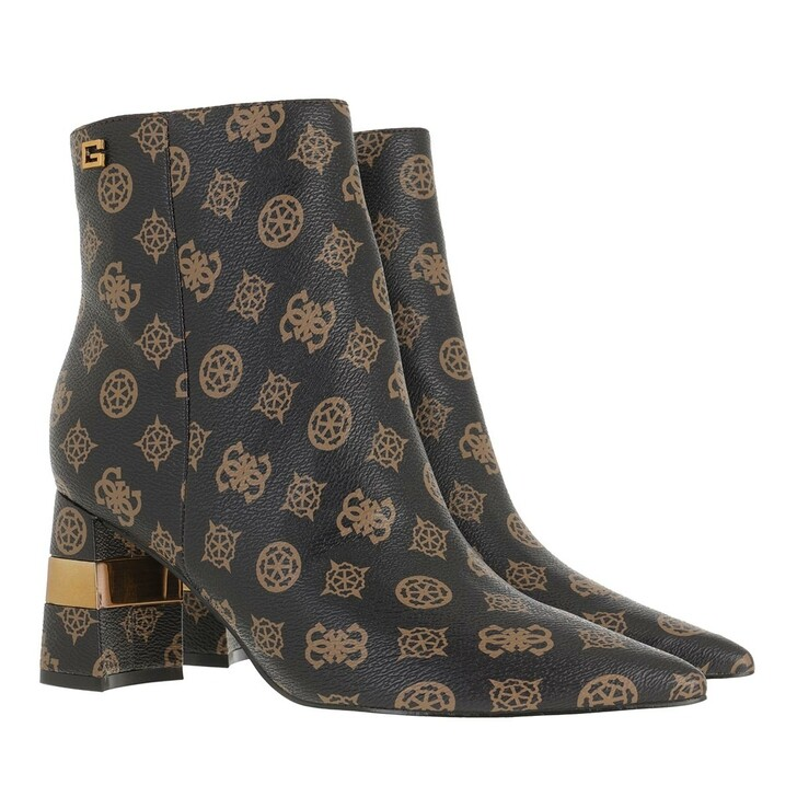 shoes, Guess, Maisy2 Footwear Dress Bootie Brown/Ocra