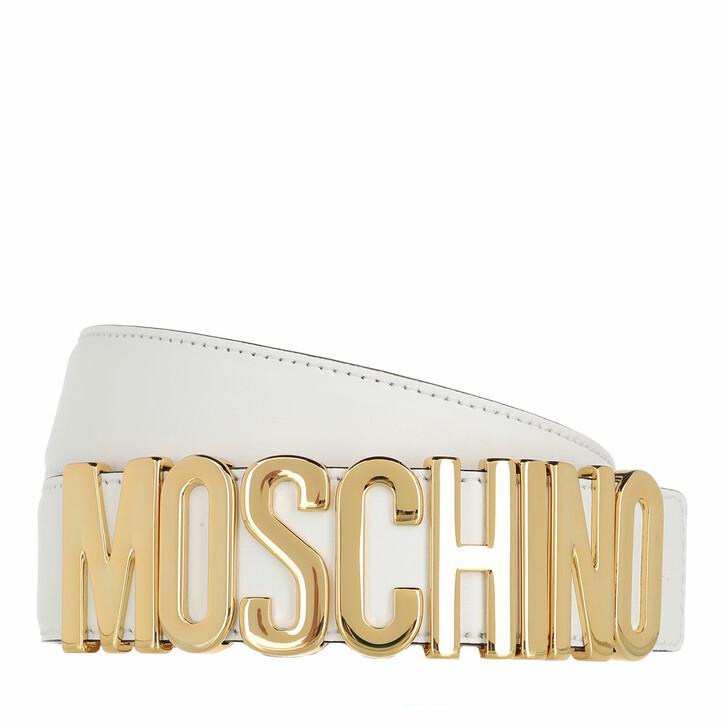 Gürtel, Moschino, Belt White