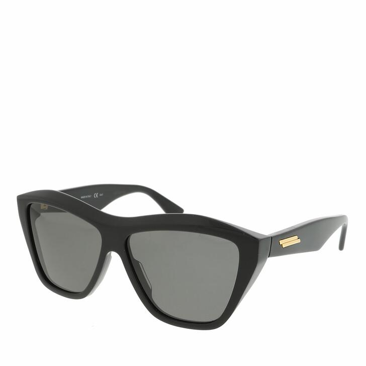 Sonnenbrille, Bottega Veneta, BV1092S-001 58 Sunglass UNISEX ACETATE BLACK
