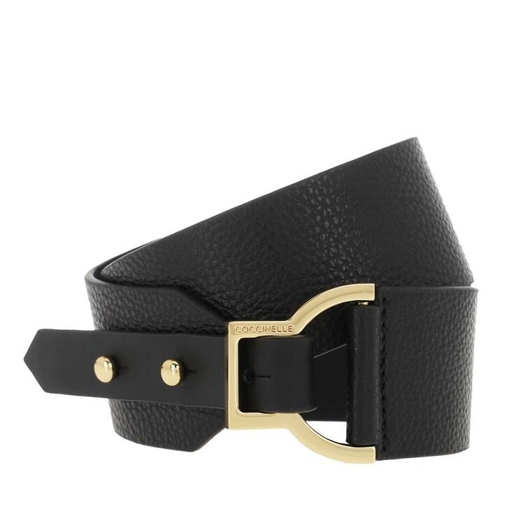 Gürtel, Coccinelle, Belt Leather Noir