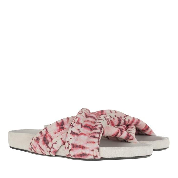 Schuh, Isabel Marant, Holden Sandals Red
