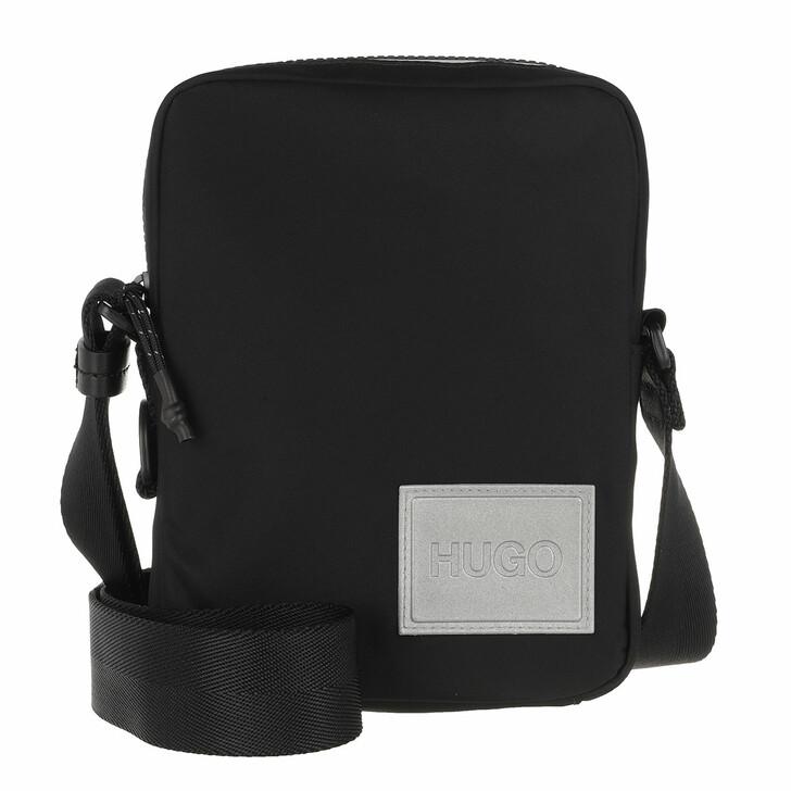 Handtasche, Hugo, Record Zip Black